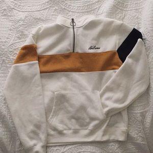 Soft brand new zip up sweater